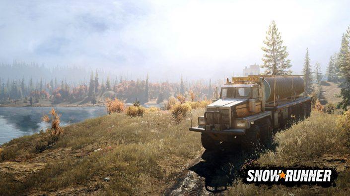 SnowRunner: Neuer Trailer stellt die Welt von Michigan vor
