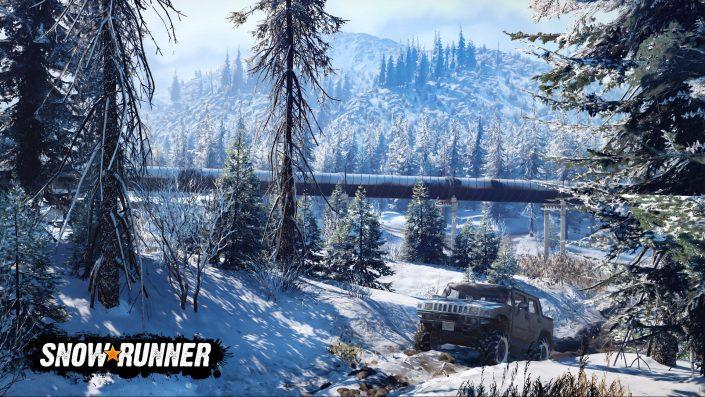 """SnowRunner: Zweite Season """"Explore & Expand"""" mit neuen Inhalten und Mechaniken verfügbar"""