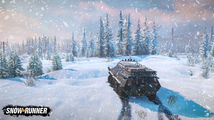 """SnowRunner: Die Offroad-Simulation im neuen """"Conquer the Wilderness""""-Trailer präsentiert"""