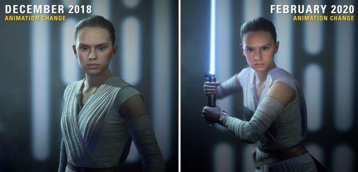 Star Wars Battlefront 2: Video zeigt grafische Veränderungen zwischen 2018 und 2020