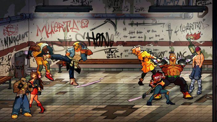 Streets of Rage 4: Mr. X Nightmare-DLC, Update und Download-Zahl enthüllt