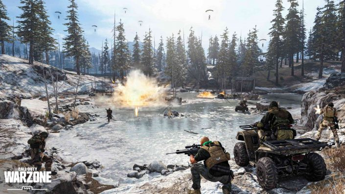 Call of Duty Warzone: Gleiche Engine trotz Verknüpfung mit Black Ops Cold War