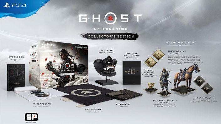 Ghost of Tsushima: Collector's Edition kann vorbestellt werden