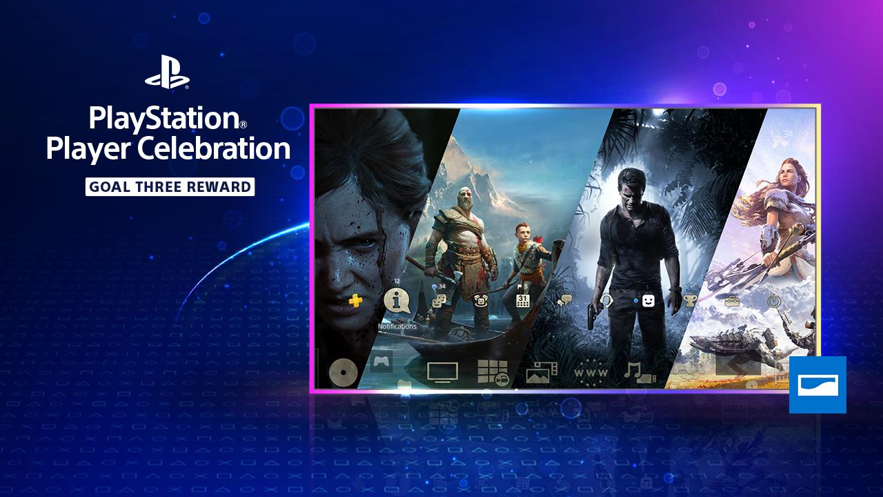 PlayStation Spielerfest PS4-Theme