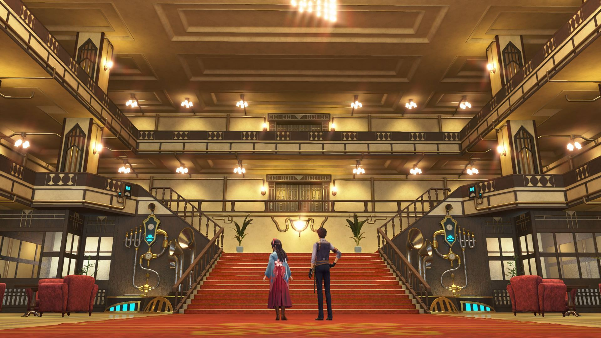 Sakura Wars Grand_Hotel_Entrance_-_Zoomed_Out_More