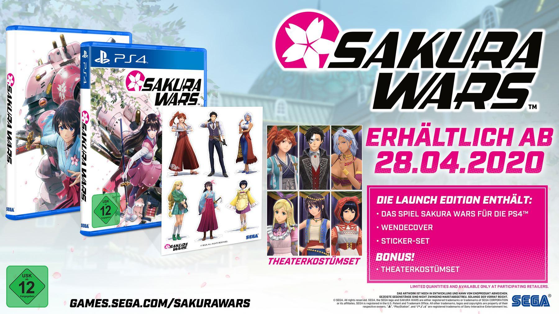 Sakura Wars PS4