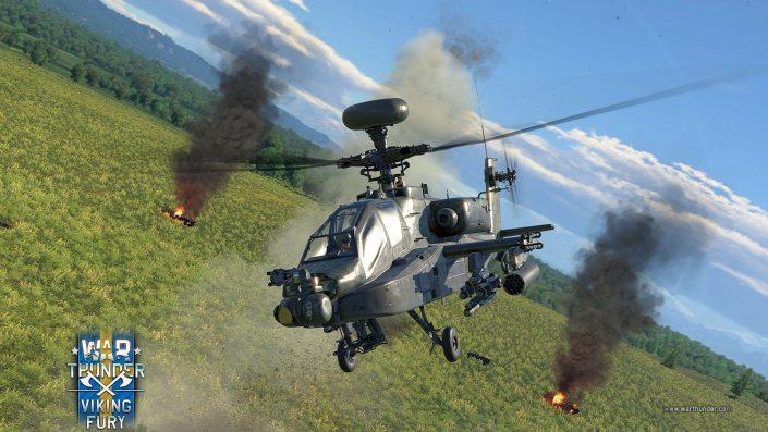 War Thunder: Legendärer AH-64 Apache Kampfhubschrauber und weitere Neuzugänge mit neuem Update