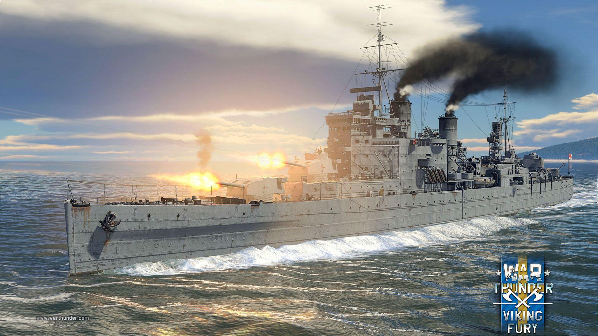 War Thunder HMS-London_vk