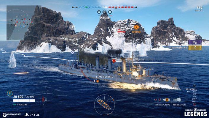 World of Warships Legends: Die Russen kommen mit neuen Inhalten – Im Trailer vorgestellt