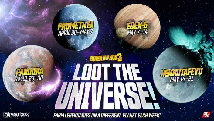 Borderlands 3: Galaktische Beute-Event angekündigt – Details und Zeitplan