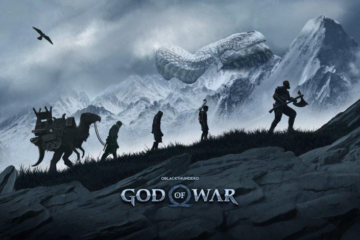 God of War: Lebensgroße Kratos-Büste und Fan-Artworks zum zweiten Jahrestag