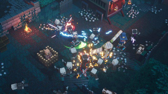 Minecraft Dungeons: Crossplay-Feature steht bereit – Neuer Trailer