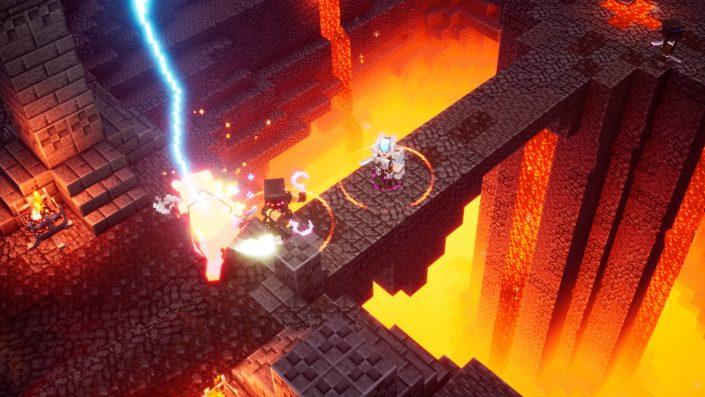 Minecraft Dungeons: Mit Launch-Trailer für PS4 veröffentlicht