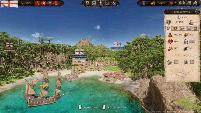 Port Royale 4: Termin der Handelssimulation bestätigt