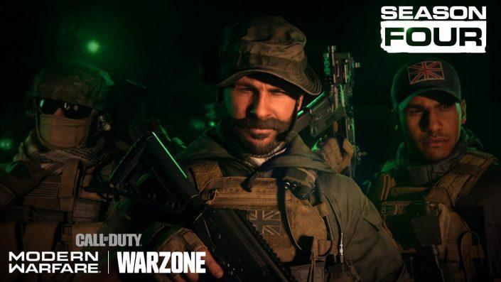 Call of Duty Modern Warfare & Warzone: Season 4 startet nächste Woche, Captain Price im Trailer präsentiert