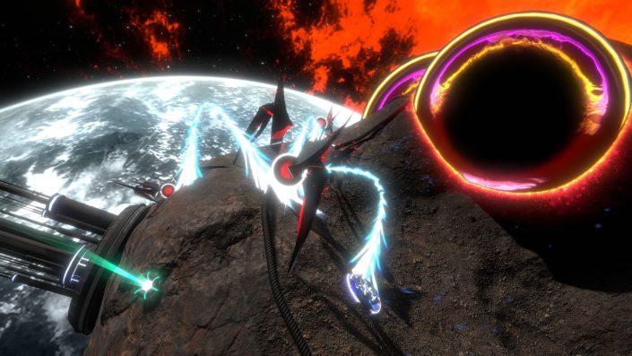 Curved Space: Twin-Stick-Shooter verschoben – Neuer Termin genannt