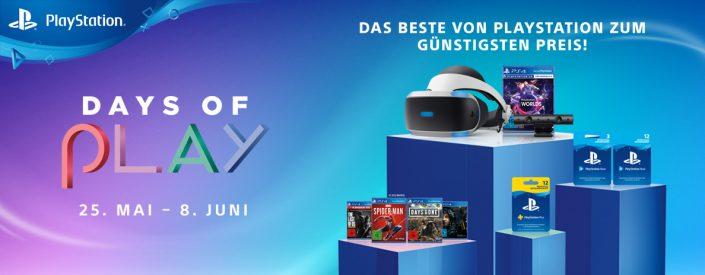 Days of Play 2020: PS Plus-Angebot, Spiele, PSVR-Bundle und mehr