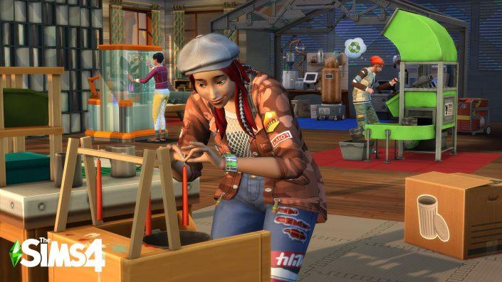 Die Sims 4: Innenhof-Oase-Set mit Termin und Details angekündigt