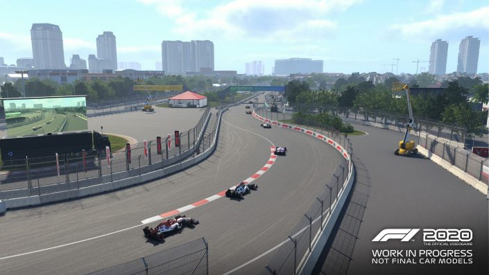 F1 2020: Trailer bietet ersten Blick auf Hanoi Circuit