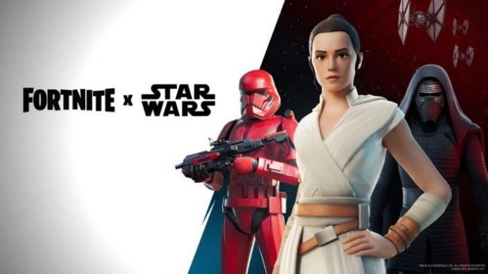 Fortnite: Feiert Star Wars mit Lichtschwertern und Outfits