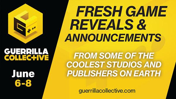 Guerrilla Collective: Weiteres Online-Event mit Ankündigungen und Präsentationen