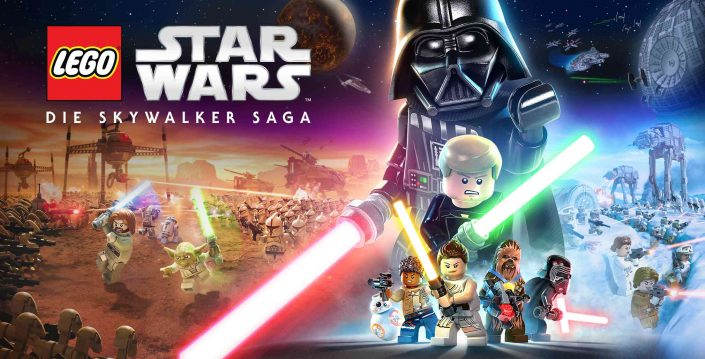 LEGO Star Wars The Skywalker Saga: Key-Artwork zeigt Helden und Schurken