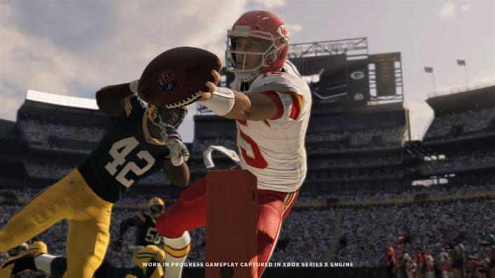 Madden NFL 21: PS5- und Xbox Series X-Szenen im neuen Gameplay-Trailer