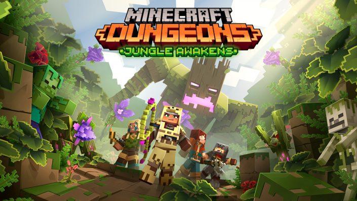 "Minecraft Dungeons: ""Jungle Awakens"" – Erster DLC erscheint im Juli"