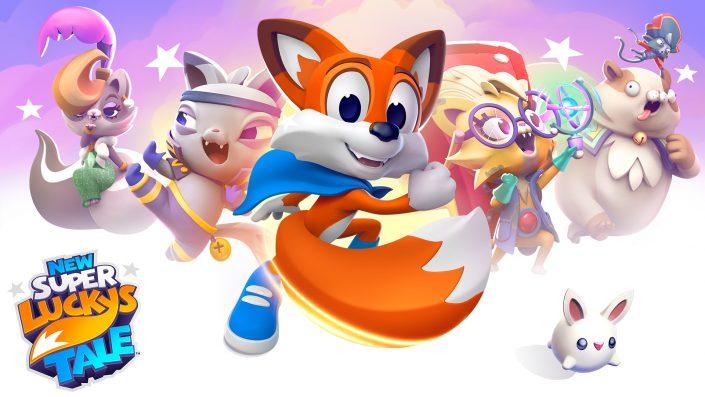 New Super Lucky's Tale: Der Releasetermin für die PS4 und die Xbox One steht