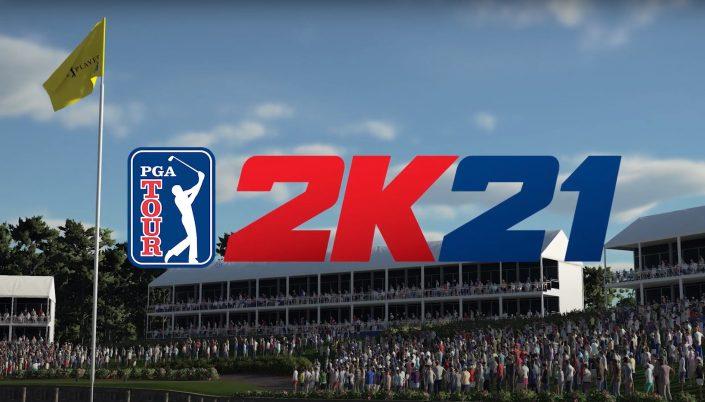 UK Charts: PGA Tour 2K21 steigt auf dem zweiten Platz ein