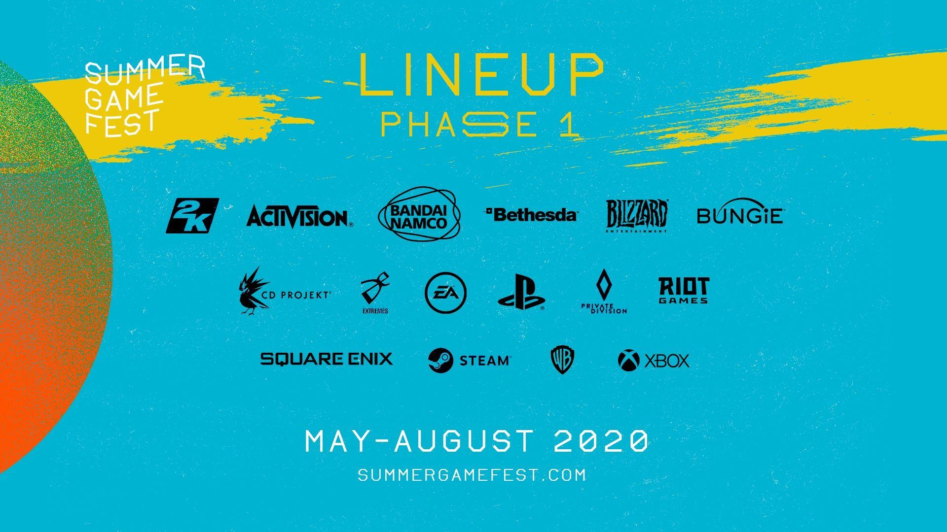Summer Game Fest Phase 1