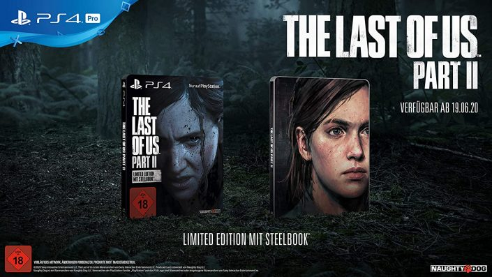 The Last of Us Part 2: Exklusive Steelbook Edition kann vorbestellt werden