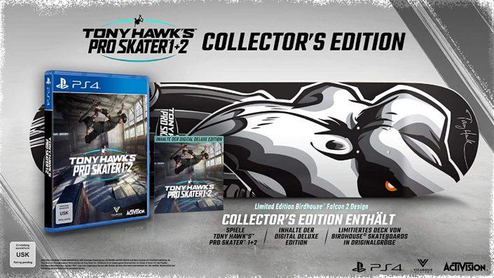 Tony Hawk's Pro Skater 1 & 2: Collector's Edition vorbestellbar – Update