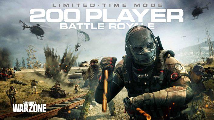 Call of Duty Warzone: 200-Spieler-Modus aus Playlist entfernt
