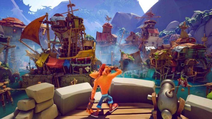 Crash Bandicoot 4 It's About Time: Frisches Gameplay-Material zum Plattformer eingetroffen