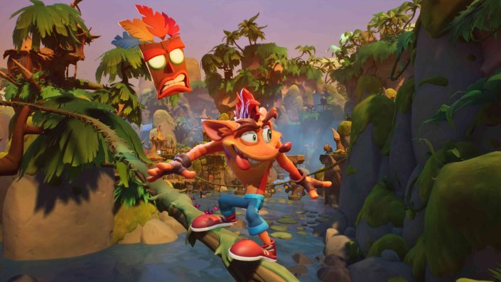 Crash Bandicoot 4 It's About Time: Frisches Video zeigt das Piraten-Level und neue Tricks