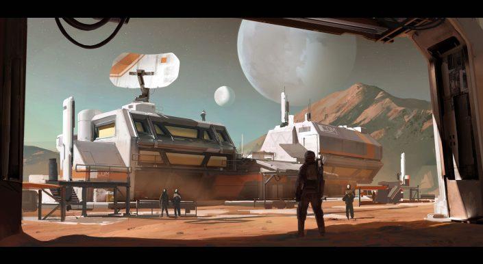 Elite Dangerous: Odyssey-Erweiterung mit Trailer angekündigt