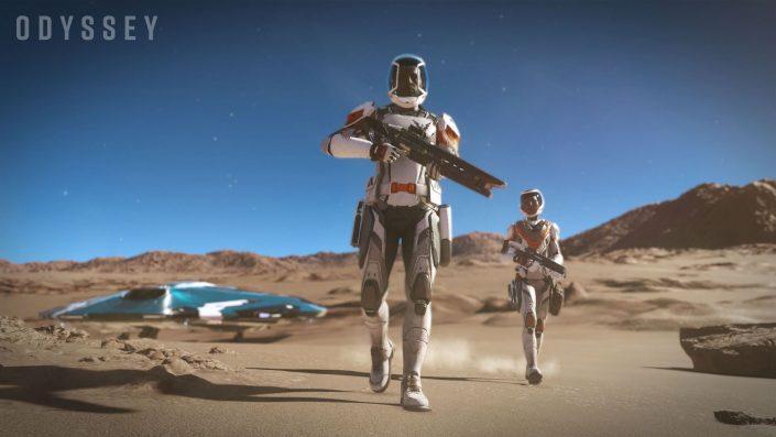 Elite Dangerous Odyssey: Erweiterung im stimmigen Gameplay-Trailer präsentiert