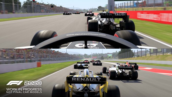 F1 2020: Splitscreen-Gameplay im neuen Video enthüllt