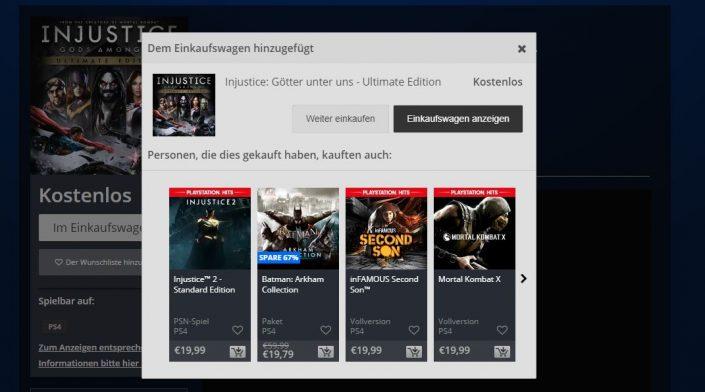PSN-Deal: Injustice Götter unter uns kostenlos downloaden