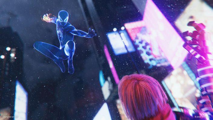 Spider-Man Miles Morales: Die technischen Unterschiede der PS4- und PS5-Version