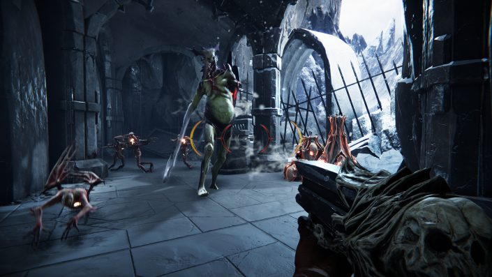 Metal Hellsinger: Rhythmus-FPS mit bekannten Metal-Sängern für PS5 und Xbox Series X angekündigt