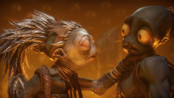 Oddworld Soulstorm: PS4, PS4 Pro & PS5 im Performance-Check