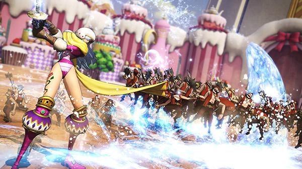 One Piece Pirate Warriors 4: Charlotte Smoothie zeigt sich im neuen Trailer
