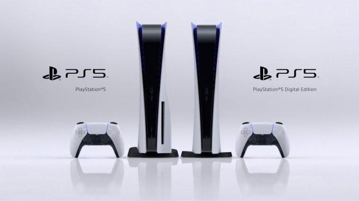 PS5: Größenvergleich und Bilder zur horizontalen Aufstellung