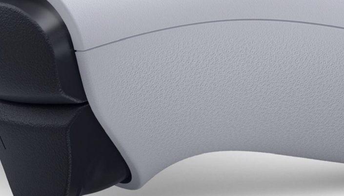 PS5 Controller: Grip-Oberfläche aus PlayStation-Symbolen