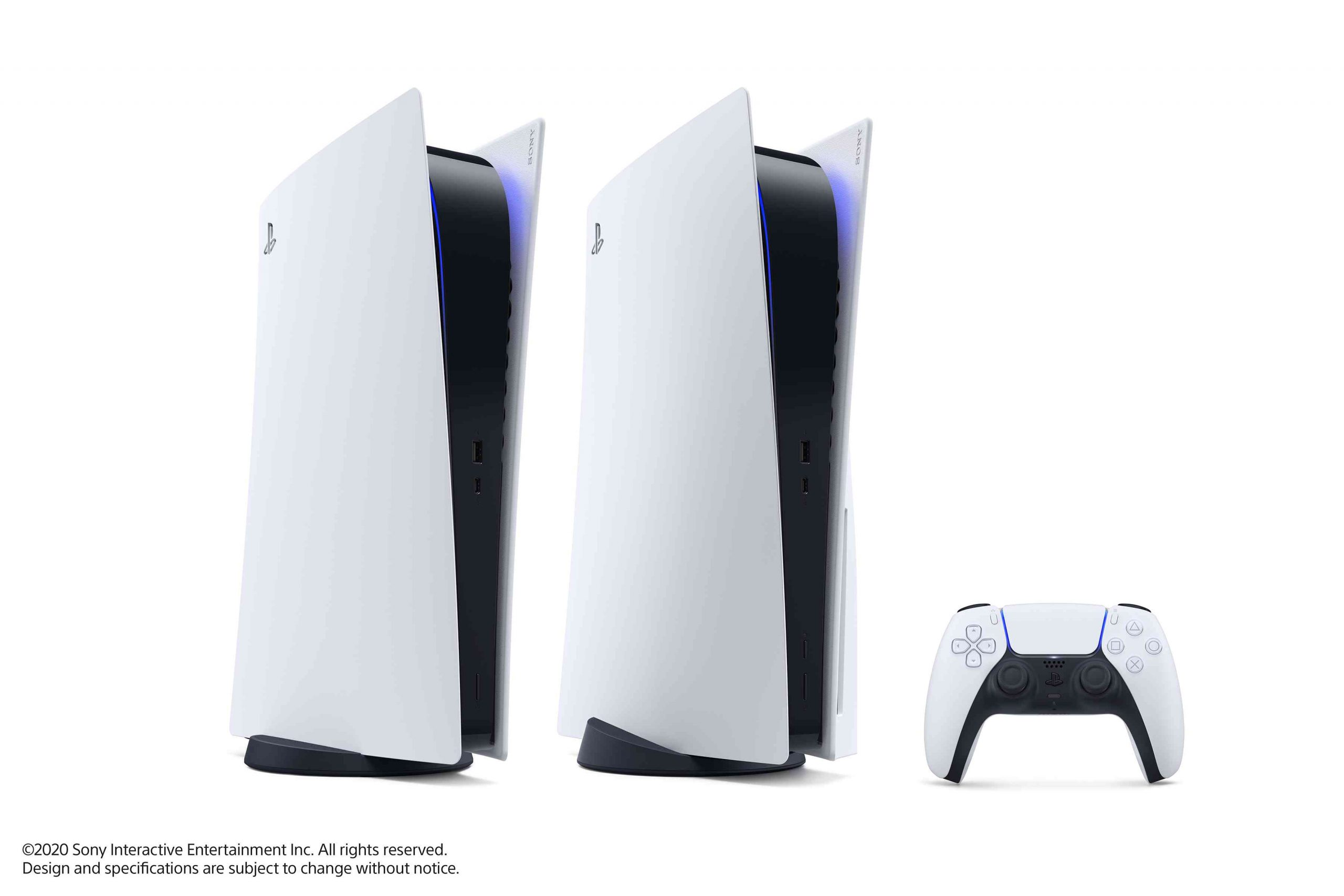 PS5 – Digital only und Disk-Modell stehend – Bild 13