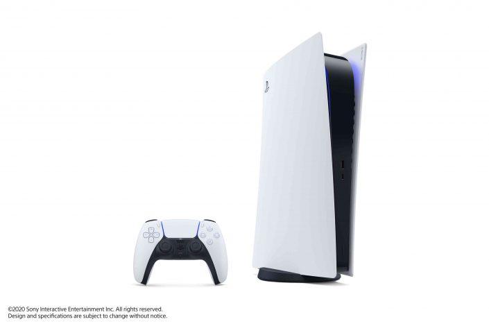 PS5: Boxarts zur Konsole, dem DualSense, der Media Remote und mehr präsentiert