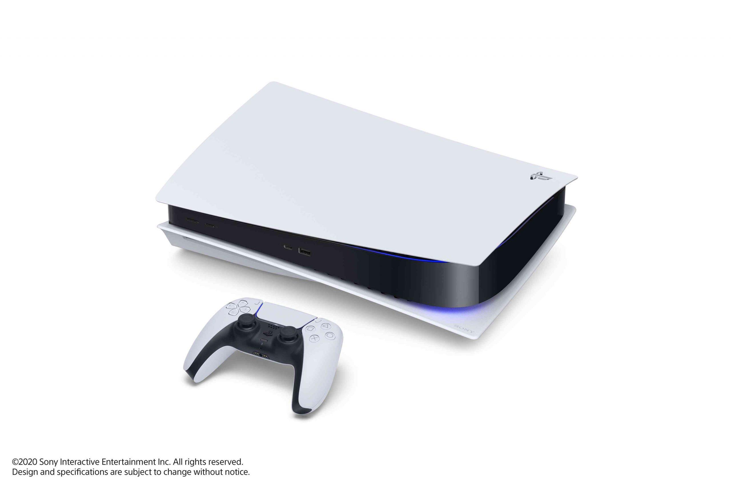 PS5 – Konsole liegend mit DualSense – Bild 16