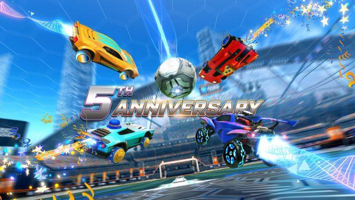 Rocket League: Event zum 5. Geburtstag angekündigt – Termin und Details